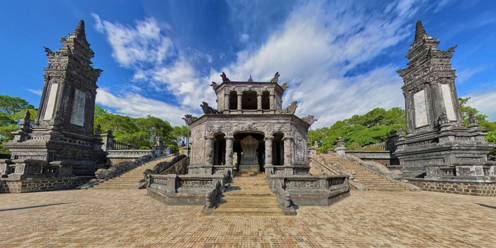 KHAI DINH TOMB – THE MIXTURE BETWEEN THE EAST AND WEST
